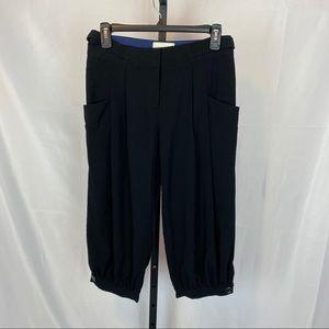 Anthropologie Elevenses Cropped Dress Pants, sz 2